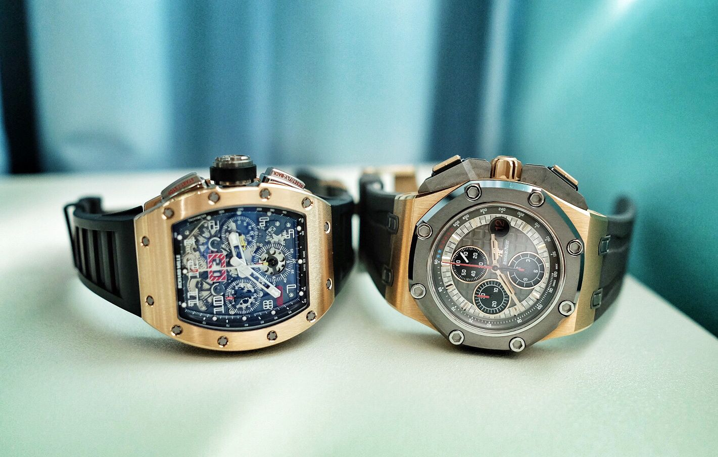 Quality Designs of Richard Mille Collection at The Hour Glass